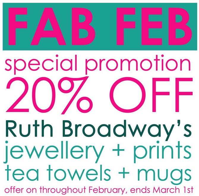 Ruth Broadway exclusive SALE