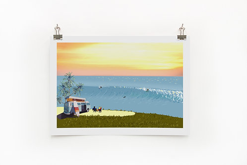 Weekend Explorer - Surf  |  Digital Print