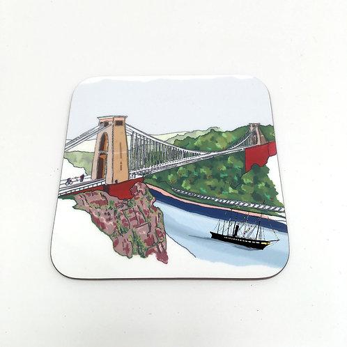 Clifton Suspension Bridge & ss Great Britain Coaster