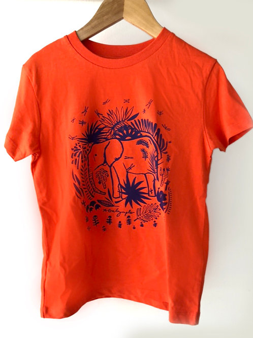 Elephant kids organic T-shirt