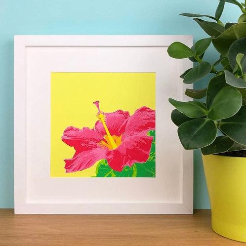 Tropical Flower Print (Unframed)