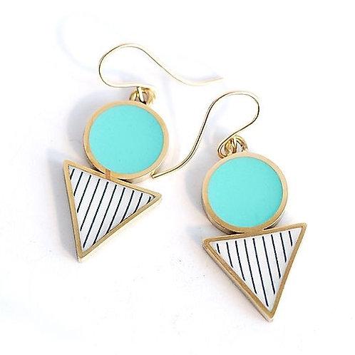 Drop Earrings - Turquoise