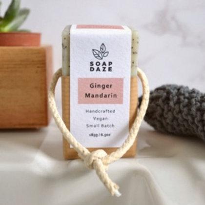 Ginger & Mandarin Soap on a Rope