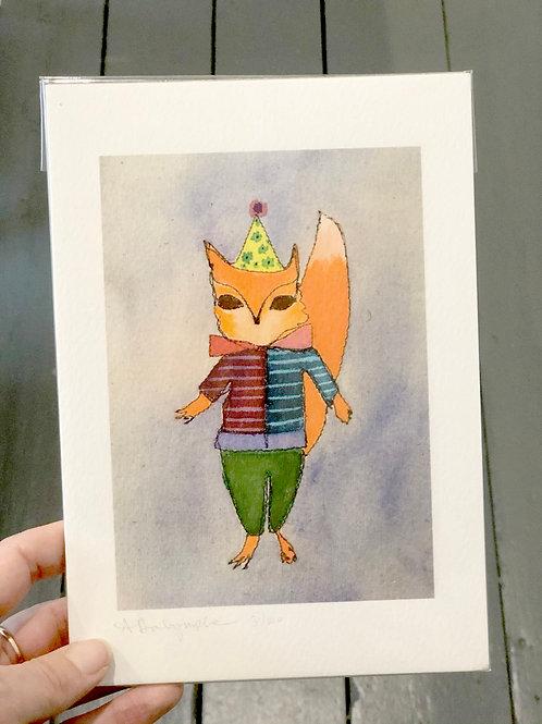 Fox Digital Print