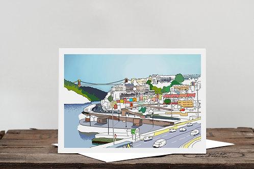 Bristol Views Card