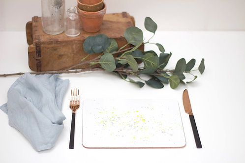 Yellow Splatter Placemat