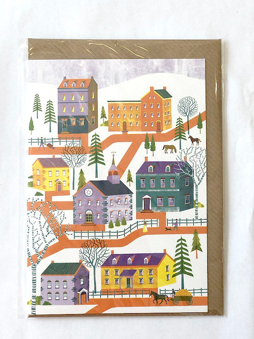 Houses in Pennsylvania Card