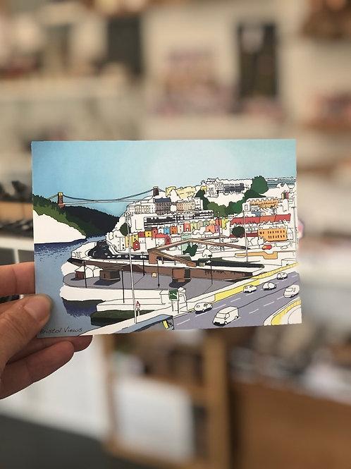 Bristol Views Postcard