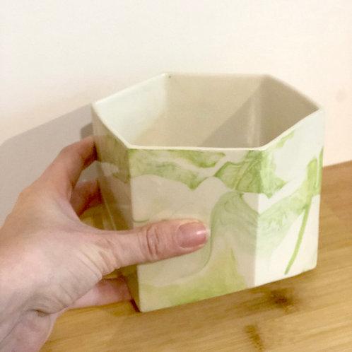 Tri Large Pot - Green