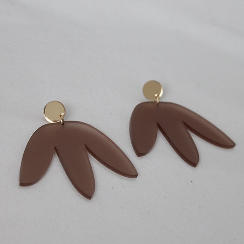 Matisse Statement Earrings - Natural
