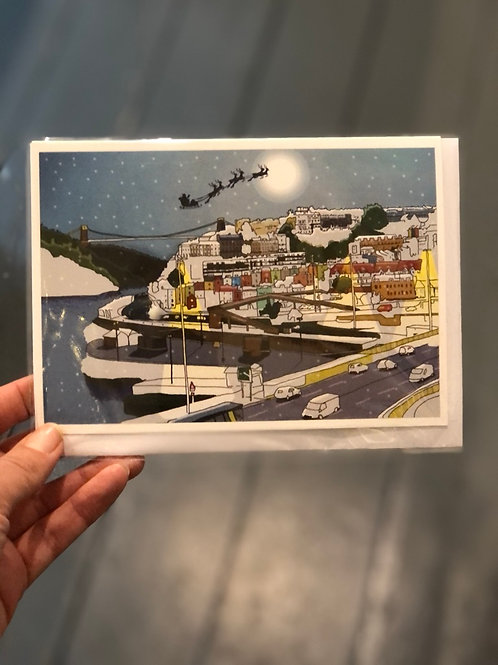 Bristol Views Christmas Card