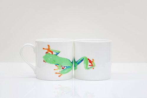 Tree Frog Bone China Mug
