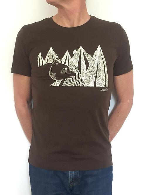 Mountain bear mens T-Shirt