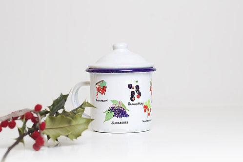 Wild Berries Enamel Mug