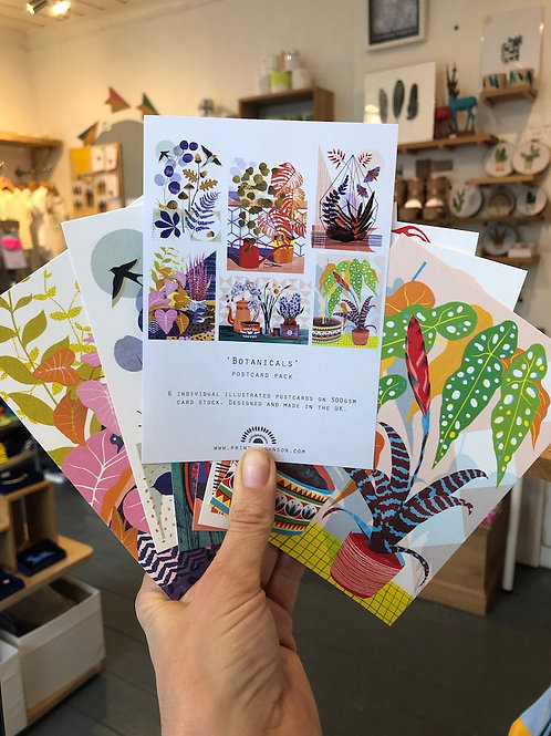 Postcard Pack - Botanicals