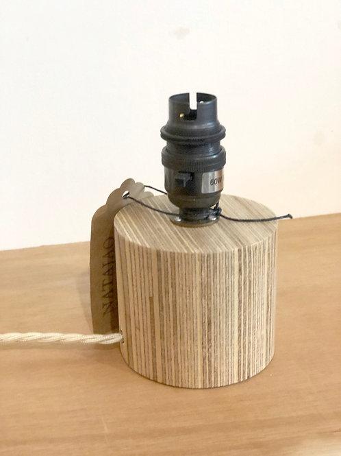 Mini Straight Column Wooden lamp base