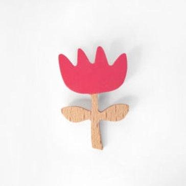 Flower Brooch - Soft Pink