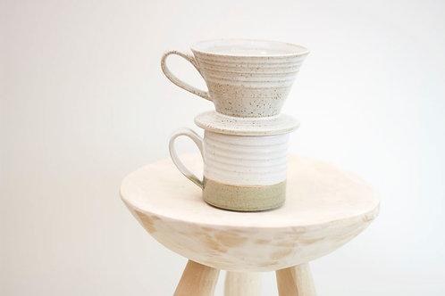 Coffee Dripper and Mug Set