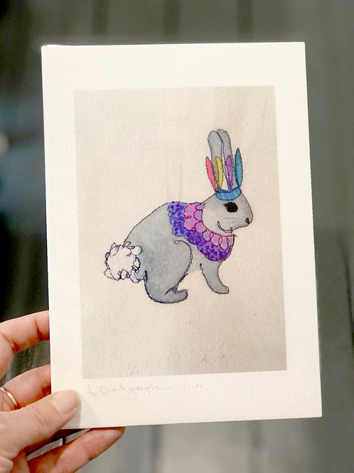 Rabbit Digital Print