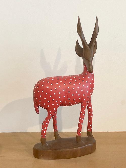 Red & White Polka Gazelle