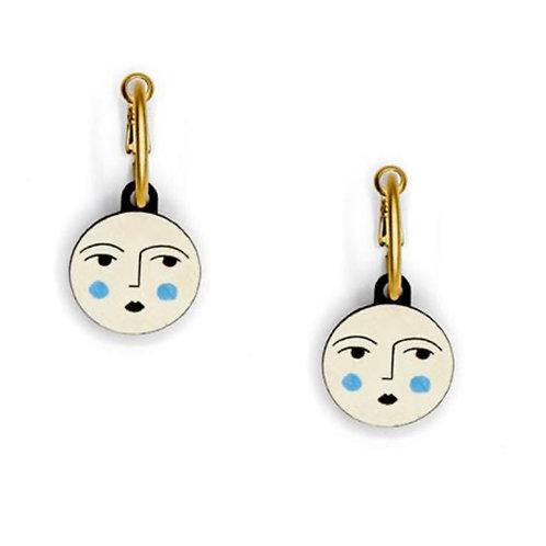 Luna Moon Earrings