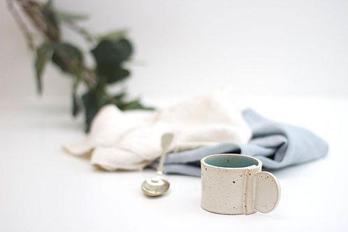 Celadon - Slab espresso cup