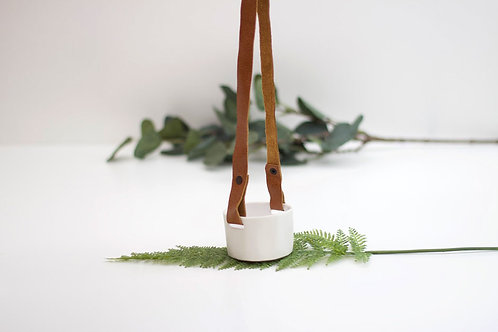 Porcelain Hanging Planter