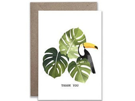 Thank You Toucan Card