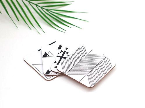 Set of Symbol Coasters