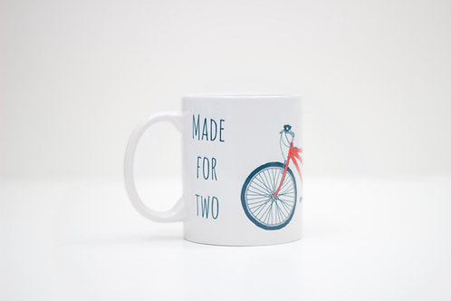 Tandem Ceramic Mug