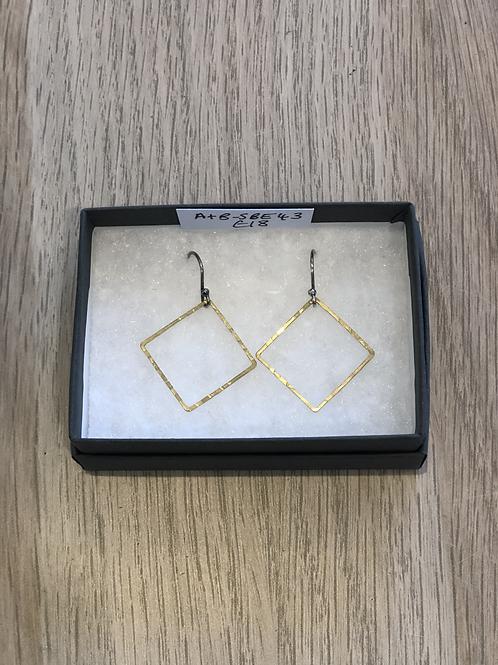 Medium Square Earrings