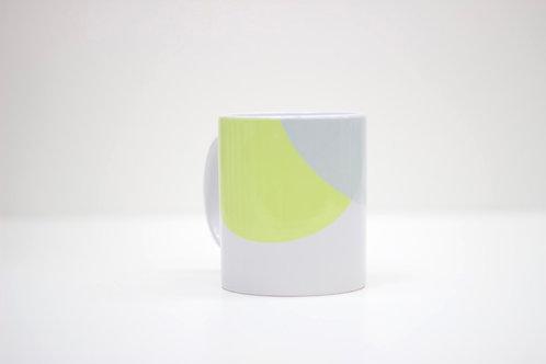 Yellow | Grey Ceramic Mug