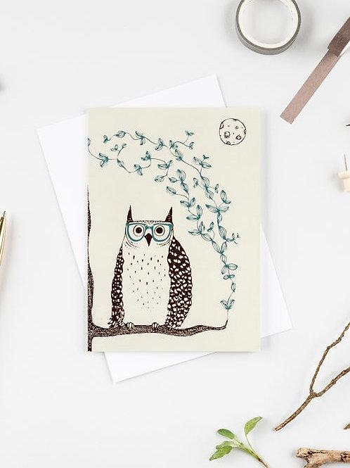 Otis the owl card