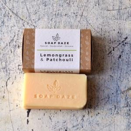 Lemongrass & Patchouli Natural Soap