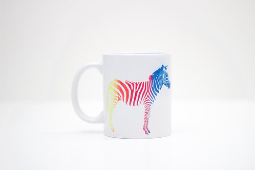 Zebras in Love Ceramic Mug