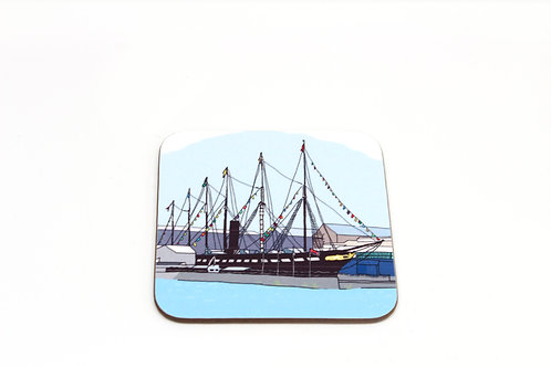 ss Great Britain Coaster