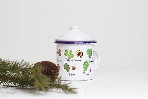 Tree Identification Enamel Mug