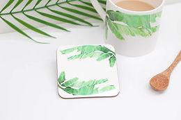 Banana Leaf Coaster