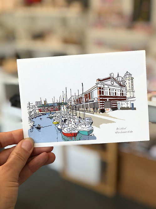 Harbourside Postcard