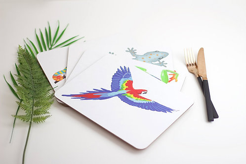 Set of Jungle Placemats