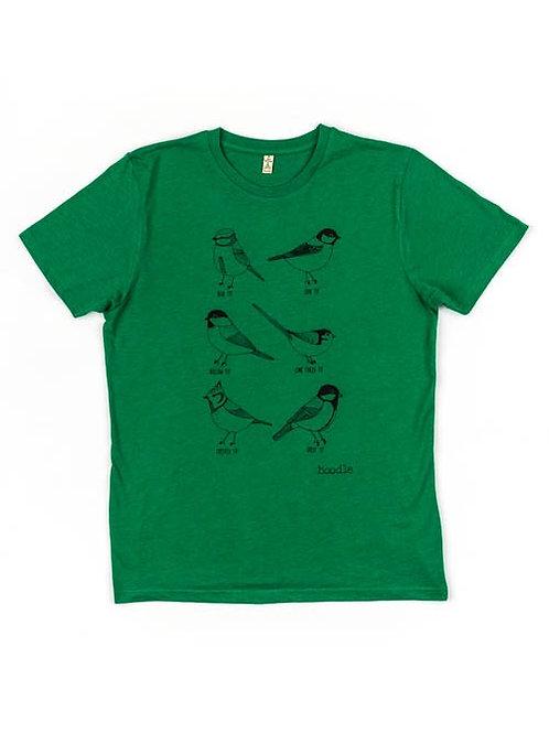Men's Garden Birds organic T-shirt