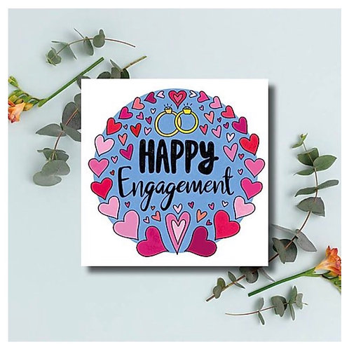 Happy Engagment Card