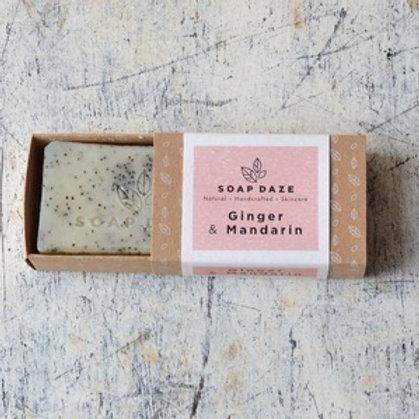 Ginger and Mandarin Natural Soap