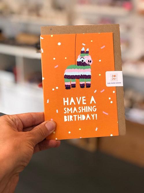 Have a Smashing Birthday Card