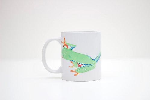 Tree Frog Ceramic Mug