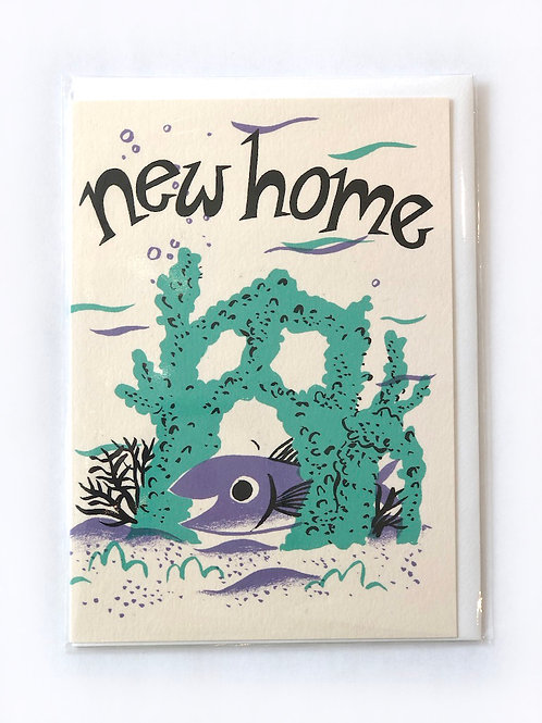 New Home Fish Card