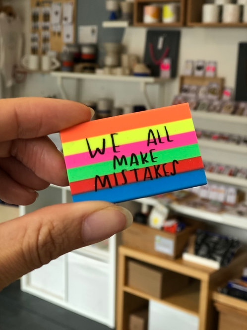 We All Make Mistakes eraser