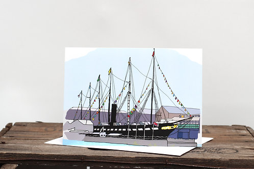 ss Great Britain Ship Card