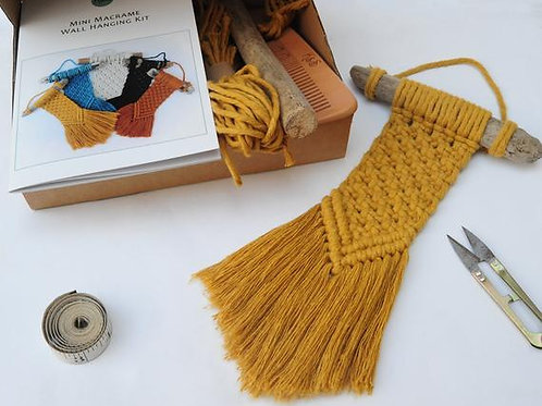 Macrame Kit - Wall Hanger - 3 colours