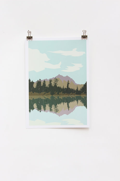 Weekend Explorer - Lake  |  Digital Print